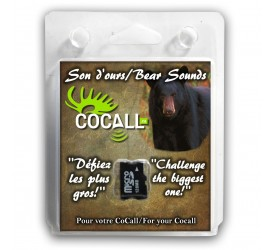 Cocall carte Ours 4 Sons ..