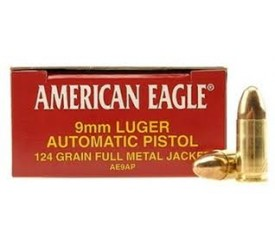 American Eagle 9MM Luger  ..